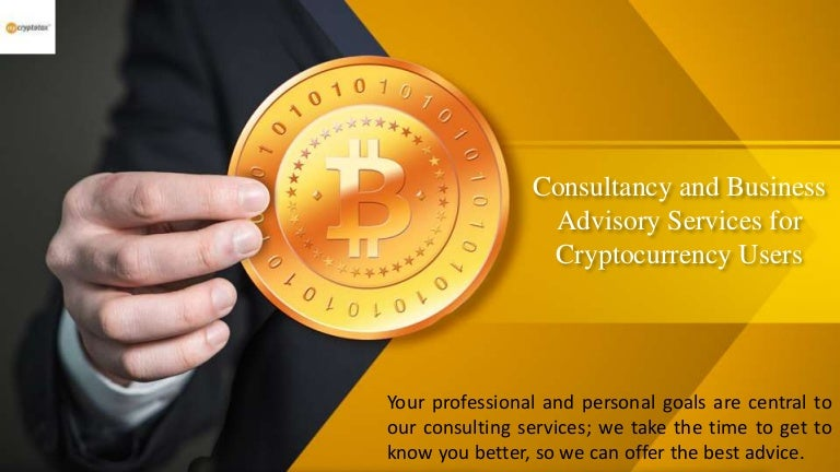 cryptocurrency consulting services