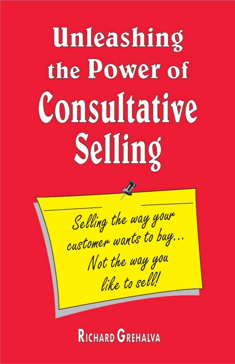 Consultative selling ebook fandeluxe Gallery
