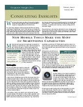 Consulting insights - Summer 2013