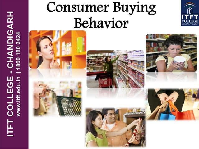 ITFT- Consumer behavior