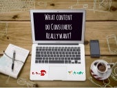 What Content Do Consumers Really Want?