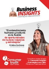 Consumer Truth - Programa E-Learning: Business Insights