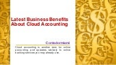 Contadormiami - Benefits of Cloud Accounting for your Business