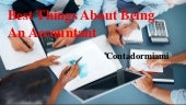 Contadormiami - Best things about being an accountant