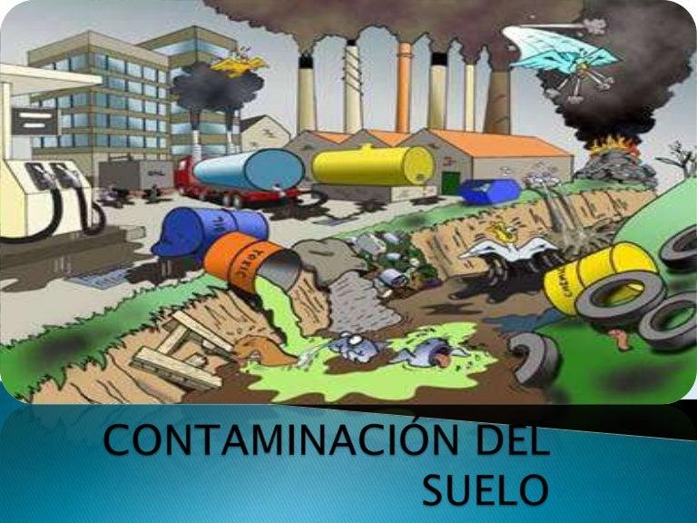 Contaminaci n del suelo for Suelo organico dibujo animado