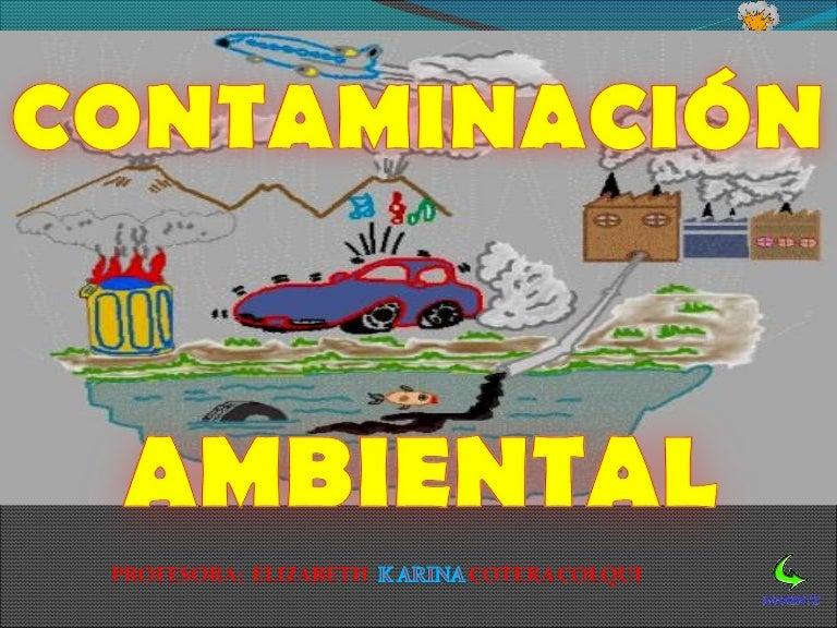 Contaminacion Ambiental Docente