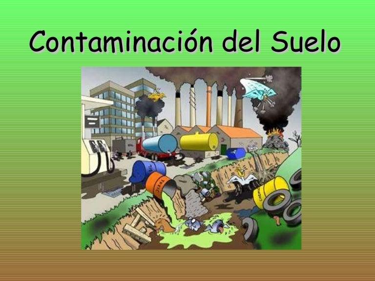 Contaminacion de los suelos ra for Como estan formados los suelos