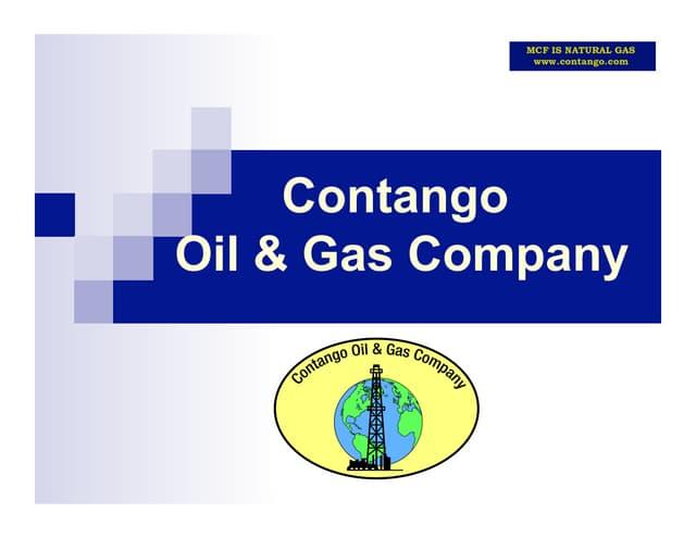 Contango Oil And Gas Company - January 2010
