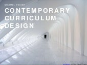 Contemporary curriculum design