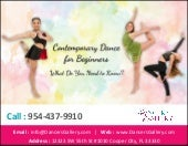 Contemporary Dance for Beginners: What Do You Need to Know?