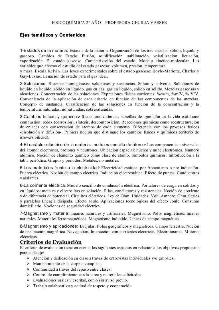 Contenidos y criterios fisicoquimica 2 urtaz Image collections