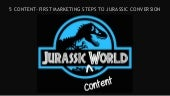 5 Content-First Marketing Steps to Jurassic Conversion