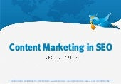 Content Marketing in SEO Study