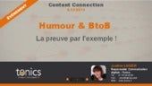 L'humour dans le BtoB - Content Marketing - Content Connection 14