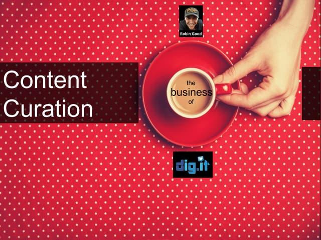 Il Business della Content Curation
