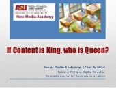 Advanced Social Media | Content is King