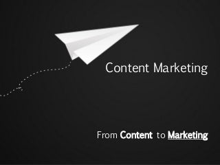 Content Marketing - Distribution and Measurement