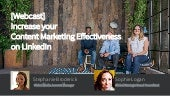 Content marketing for search and staffing webcast