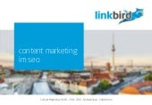Content Marketing im SEO