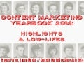 Content marketing yearbook 2014