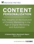 Content Personalization Benchmark Report