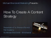 How to Create a Content Strategy Updated for 2016