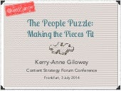 The People Puzzle: Making the Pieces Fit