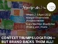 Context Trumps Location But Brand Backs Them All