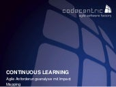 Continuous Learning - Agile Anforderungsanalyse mit Impact Mapping