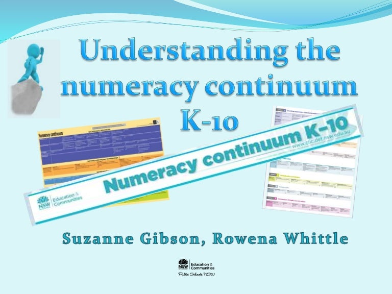 Numeracy Continuum course