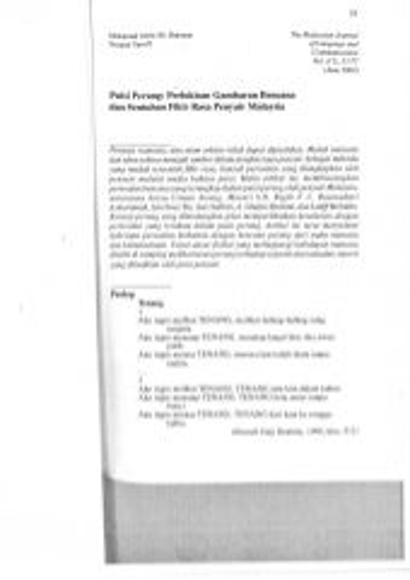 Contoh penulisan artikel format apa (pusi perang)