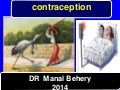 Contraception for undergraduate