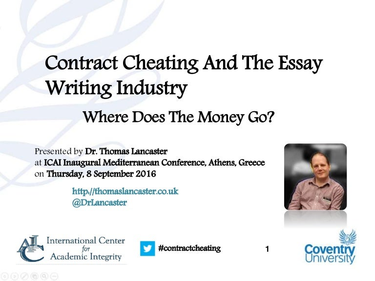 contract cheating and the essay writing industry where does the mon