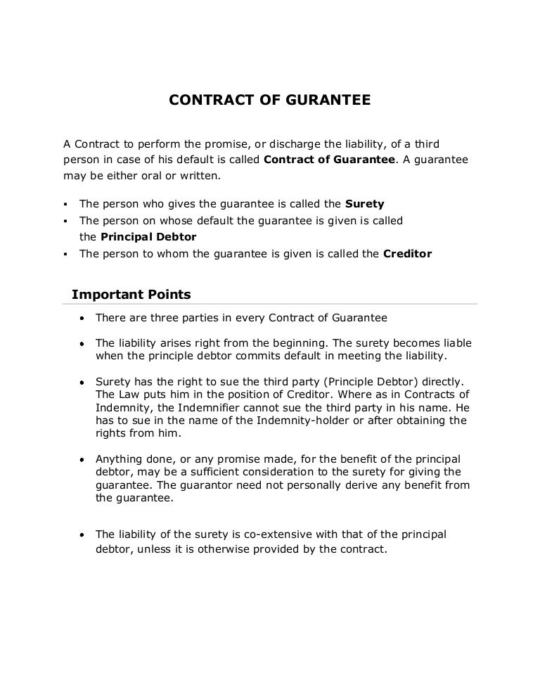 Indemnification agreement sample.