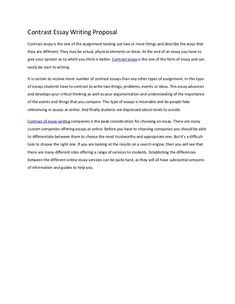 How to write an essay proposal example essay classification examples