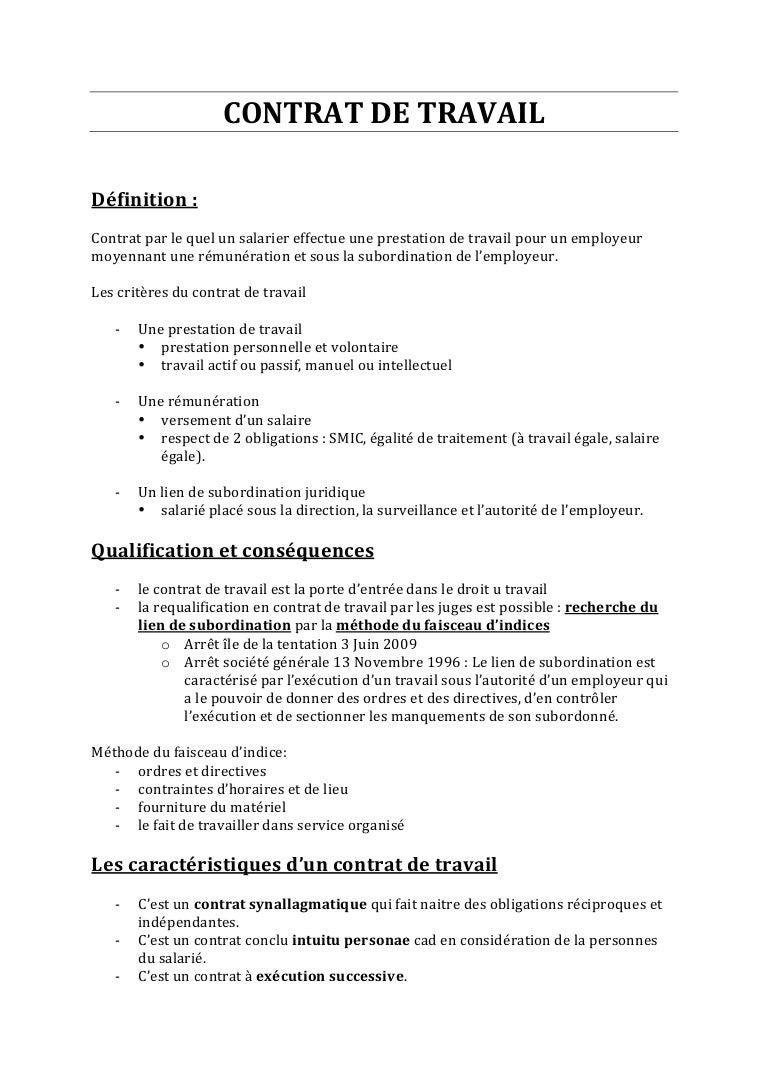 validité d un contrat de travail Contrat de travail validité d un contrat de travail