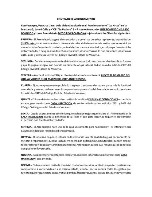 contrato de alquiler de local comercial pdf 2018