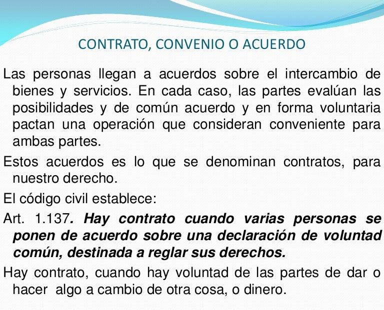 Contrato, convenio o acuerdo