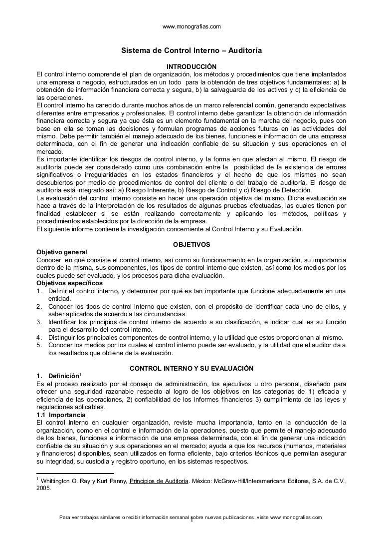 Control interno-auditoria - copia