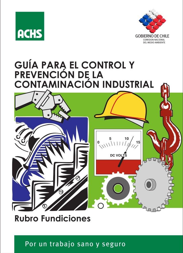 Control y-prevencion-de-riesgos-en-fundiciones