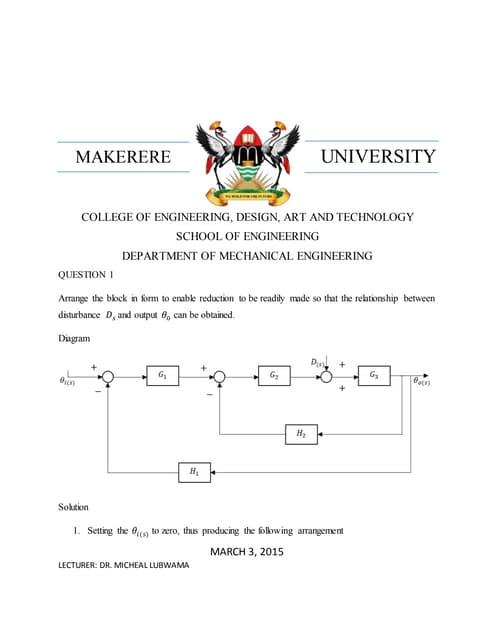 Control systems diagraming