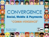 Convergence: Social, Mobile & Payments in Generation-M!