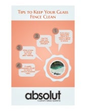 Tips to Keep Your Glass Fence Clean