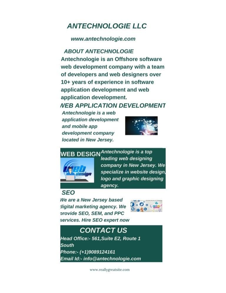 Nj Web Design Custom Website Development Antechnologie