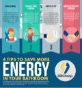 4 Tips To Save More Energy In Your Bathroom