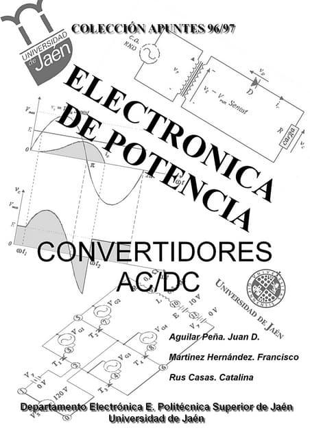 Convertidores acdc (Colección apuntes UJA 96/97)