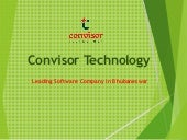 Convisor Technology - Best Software Company in Bhubaneswar