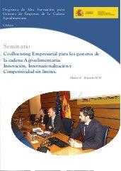 Curso de Coolhunting - Programa de Alta Formacion - Ministerio Medio Ambiente, Rural y Marino