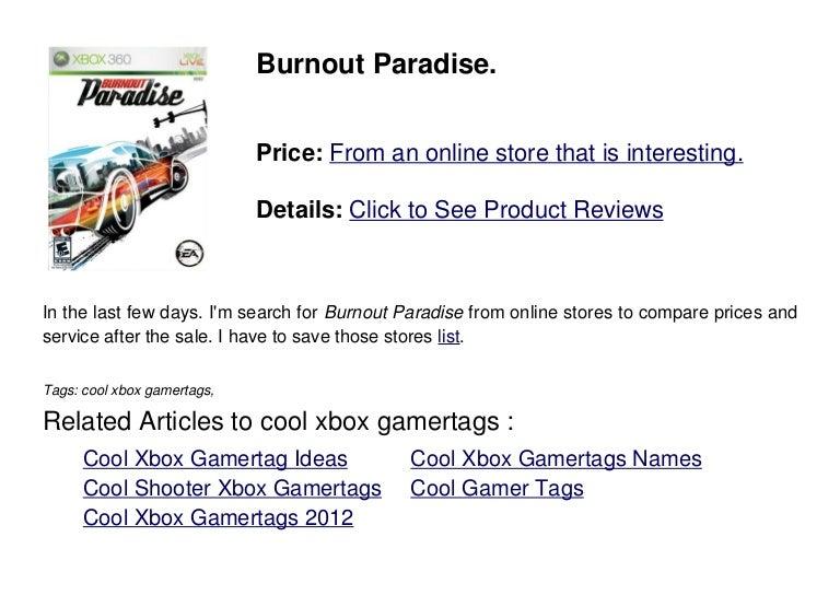 Cool Xbox Gamertags