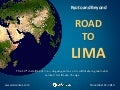 Road to Lima COP20
